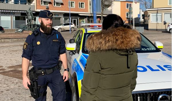Policeofficer in Vetlanda